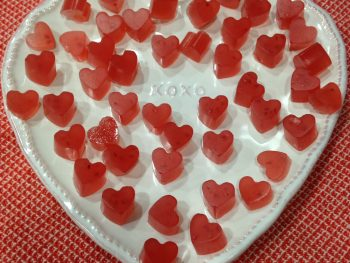 Valentine's Day Vitamin C Gummy Hearts