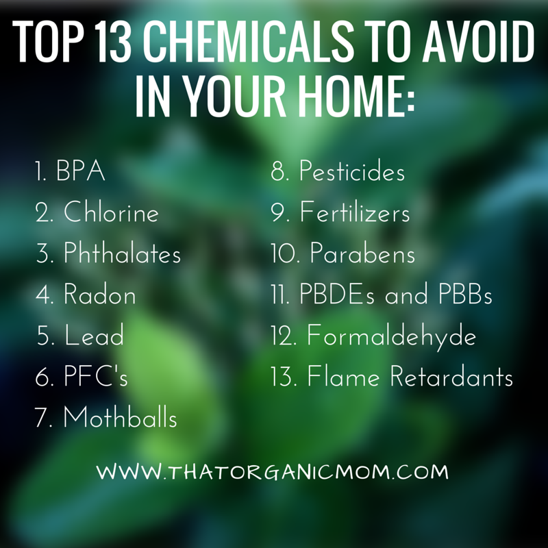 Top 10 Chemicals to avoid in your home-