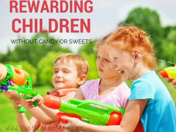 How to Reward Children Without Food
