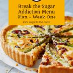 Break the Sugar Addiction Menu Plan 4