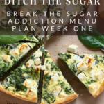 Break the Sugar Addiction Menu Plan 9