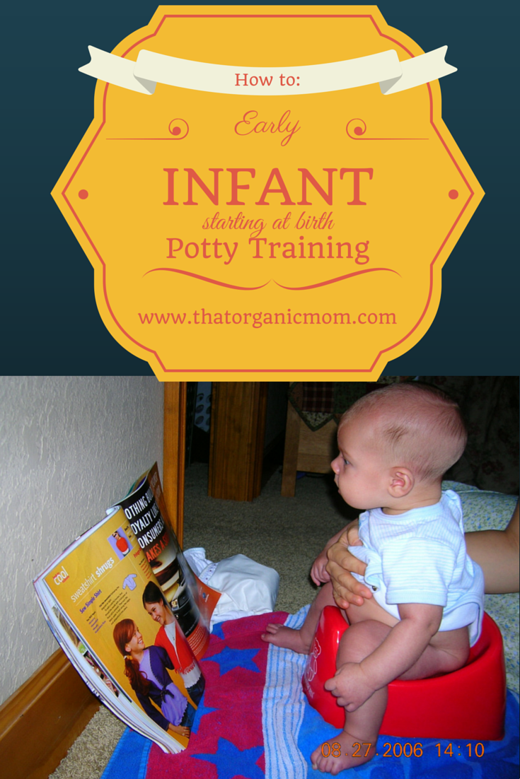 early potty training