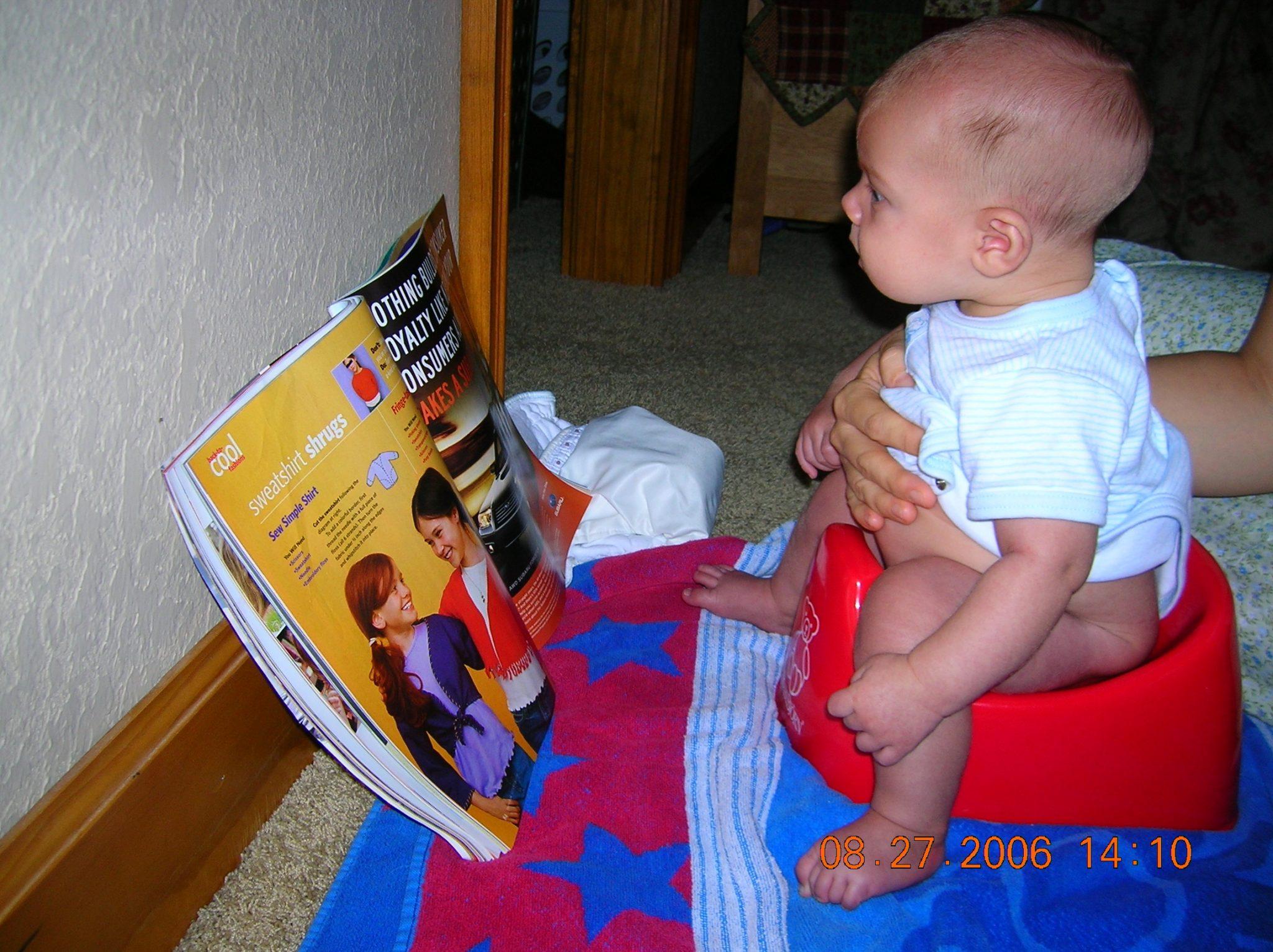 early potty training methods
