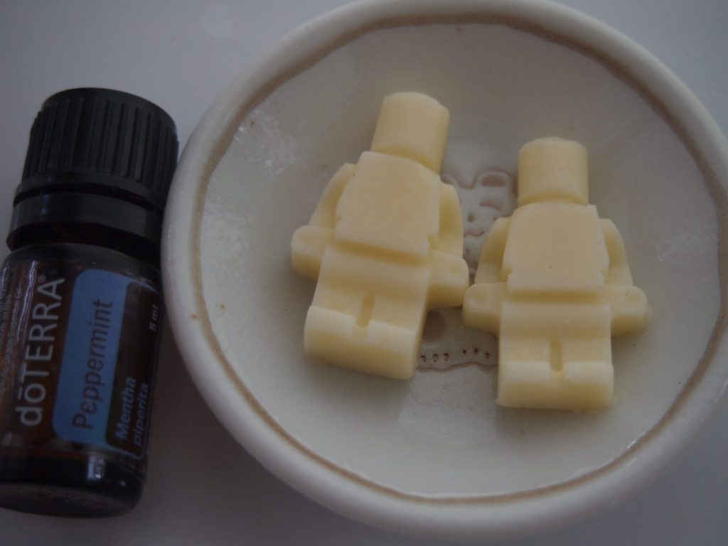 Buttermint Lego Men made with DoTerra Peppermint Oil