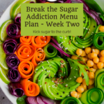 Week 2 Break Sugar Addiction Menu Plan 10