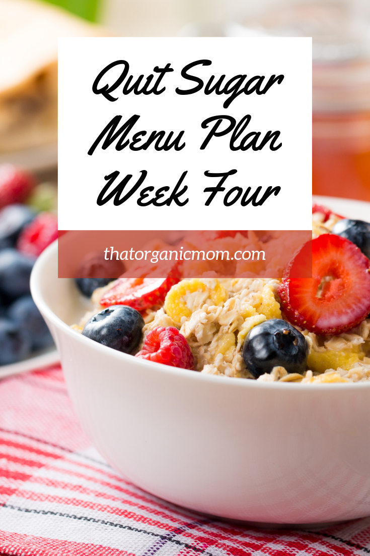 Week Four Break the Sugar Addiction with BONUS 4