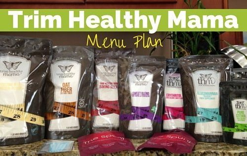 Weight Loss Menu Plan with THM 1