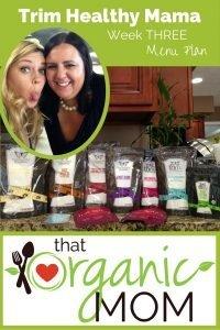 Trim Healthy Mama week 3 pinterest