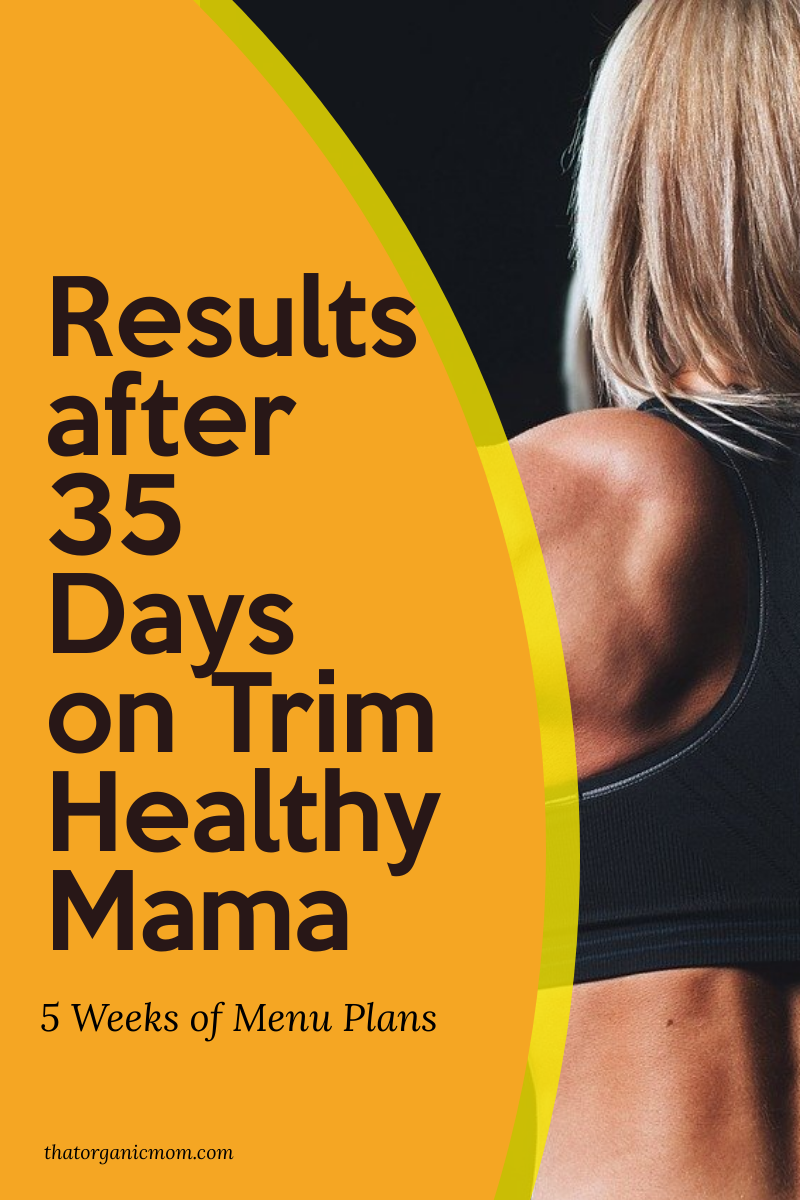 How much have you lost on the Trim Healthy Mama Plan? 17