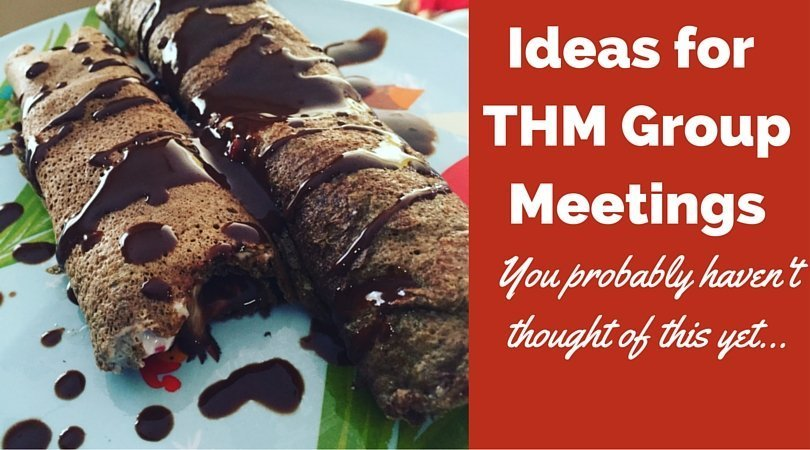 THM Group Meeting Ideas for motivated and successful Trim Healthy Mama Groups