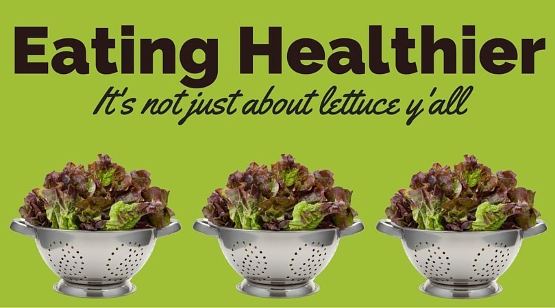 Eating salad isn't the only way to be healthy, it's about more than lettuce!