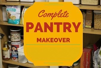 Pantry Makeover...ditch the sugar! 1