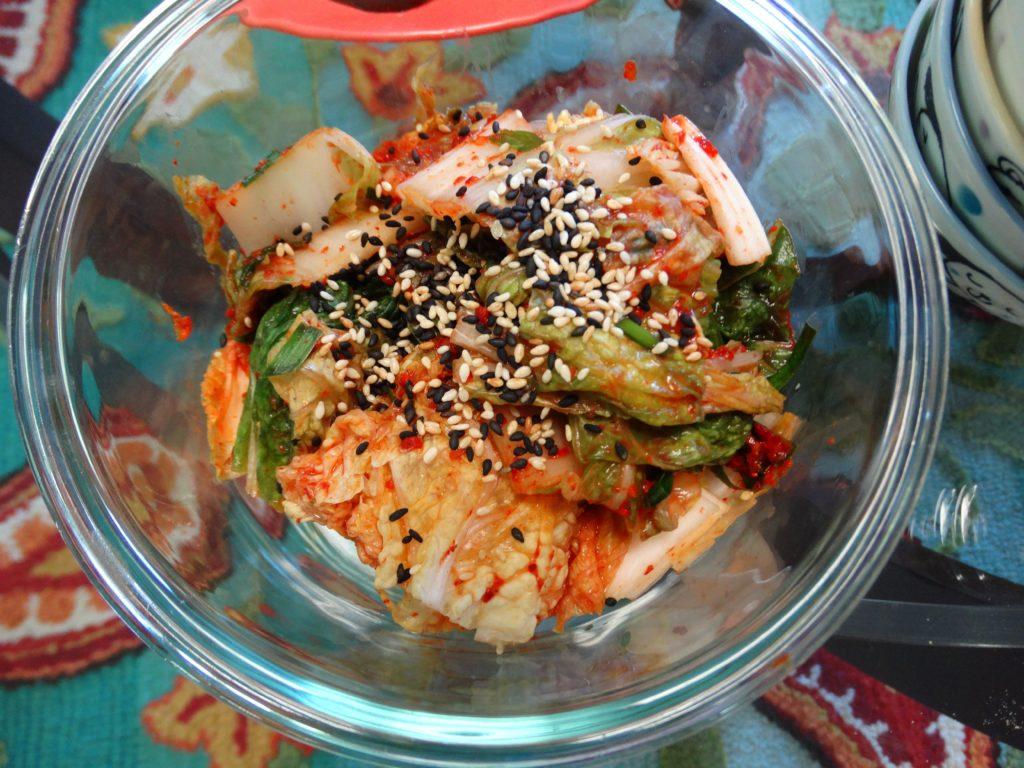 Garlicky Kimchi
