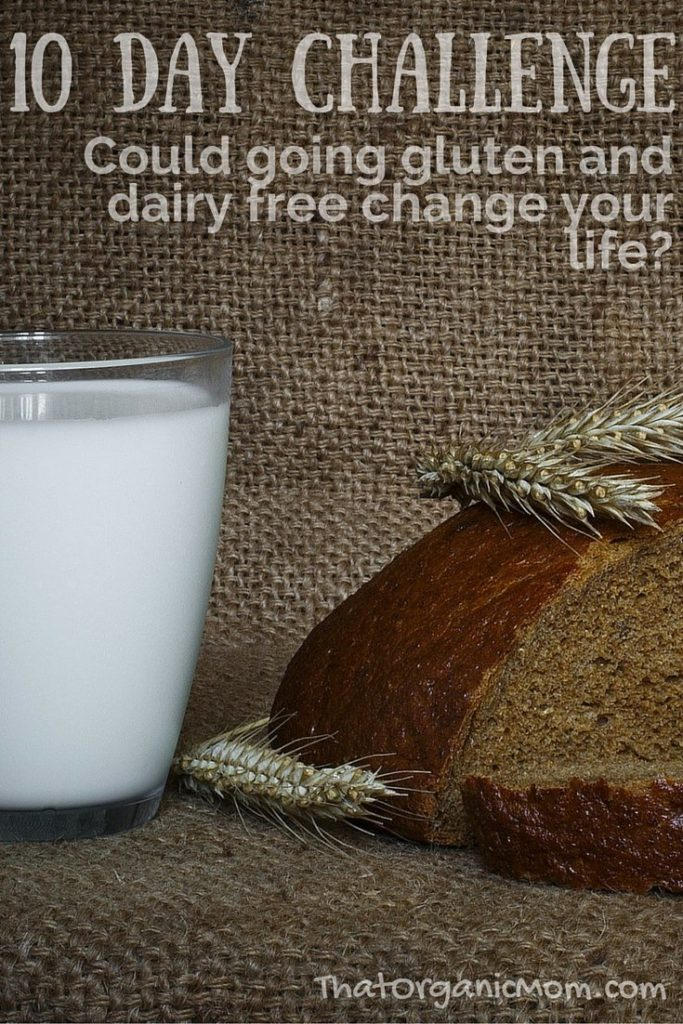 10 Day Challenge to go Gluten and Dairy Free