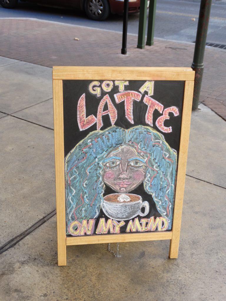 Got a Latte on my mind...