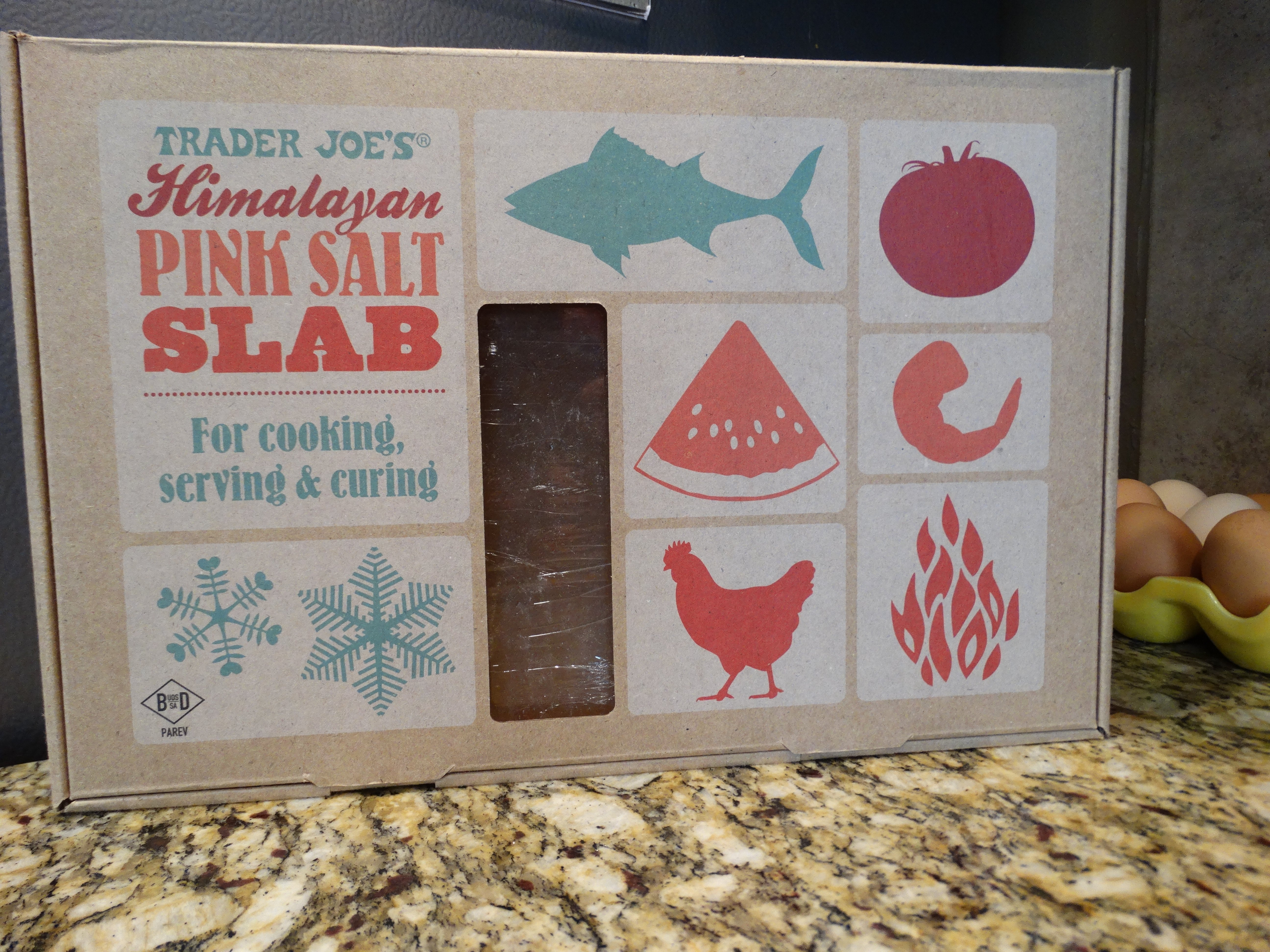 Himalayan Salt Slab from Trader Joe's is priced right!