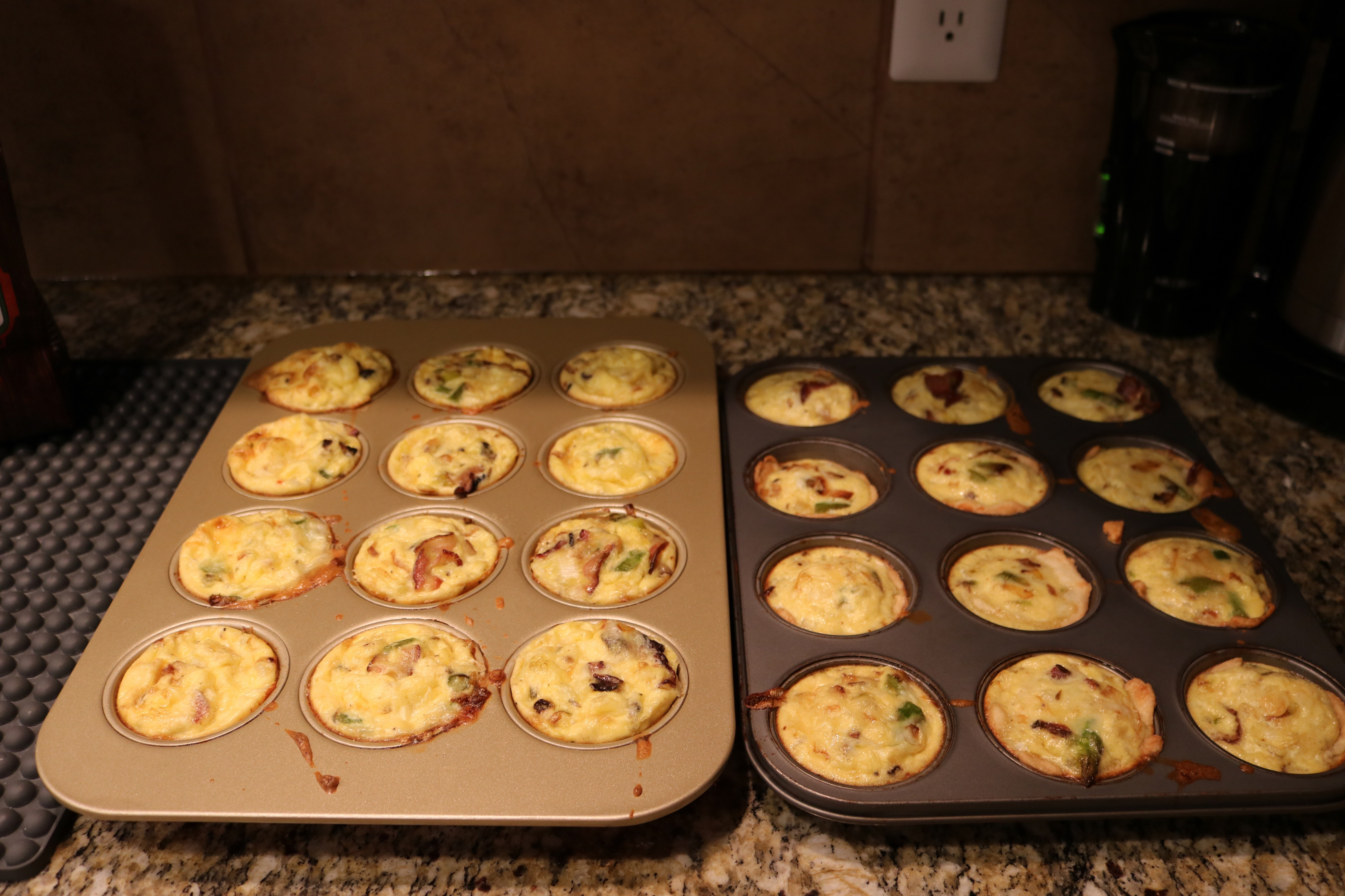 Grab and Go Mini Quiche for Back to School Busy Mornings - Make ahead and save time!