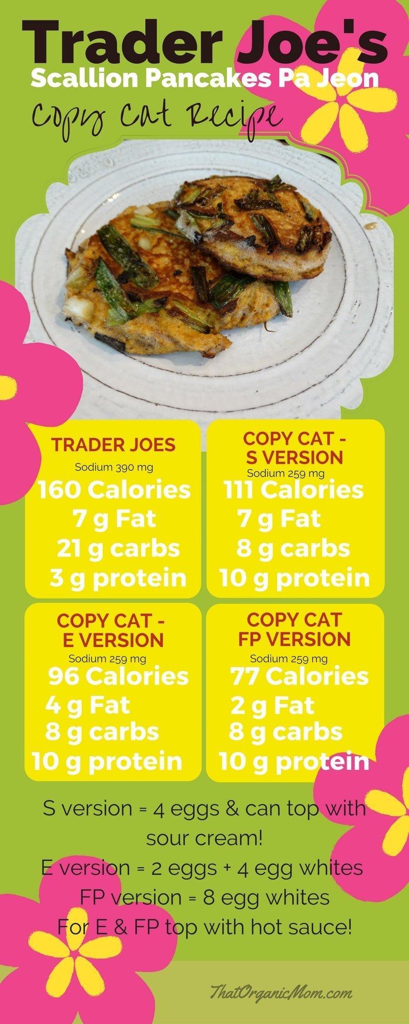 Trader Joe's Copy Cat Scallion Pancakes for Trim Healthy Mama's THREE ways, S, E or FP -- Enjoy!