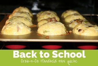 Grab and Go Mini Handheld Quiche 1