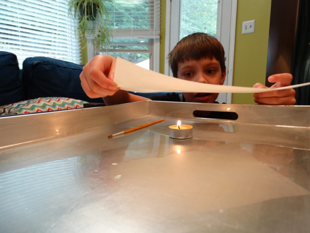 Fun Science Projects for Secret Intelligent Agents at work deciphering messages in our homeschool science time!