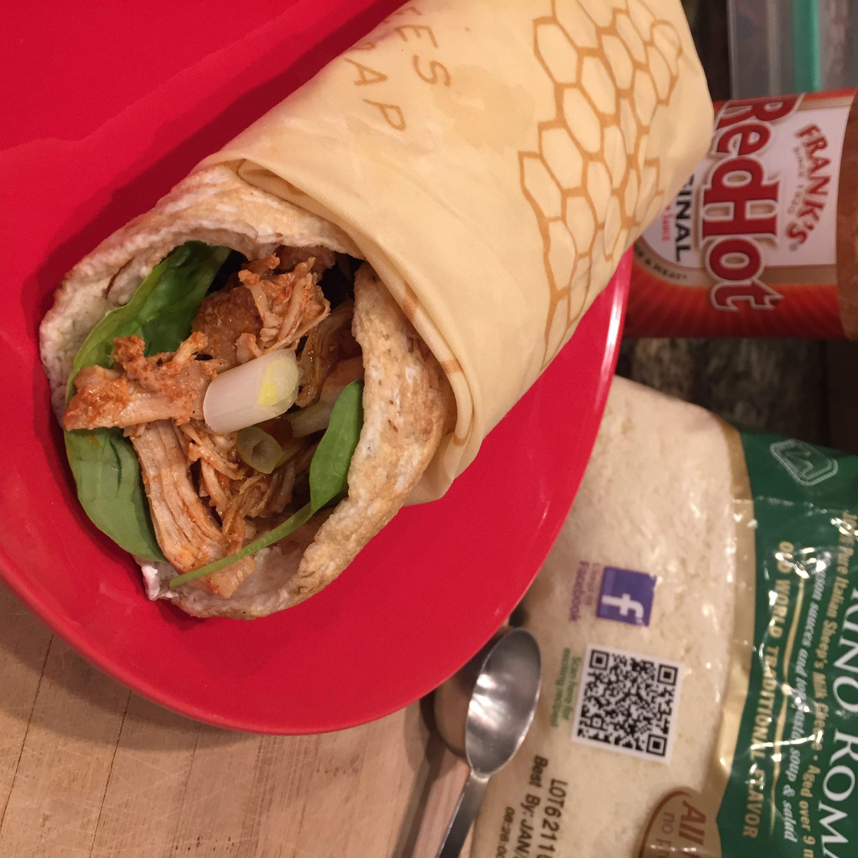 BBQ Chicken Wonder Wrap and Roll