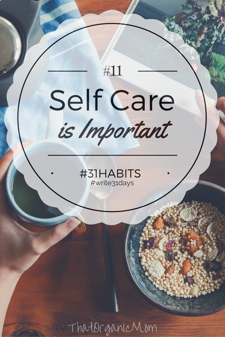 Habit #11 Self care is not selfish; it's important