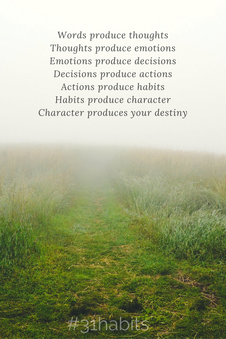 Manage your emotions. A habit we can all practice.