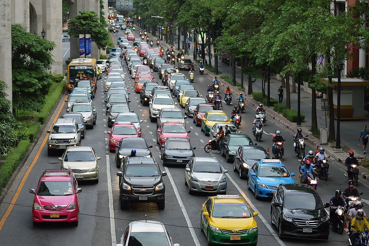 Avoid rush hour if you get road rage!