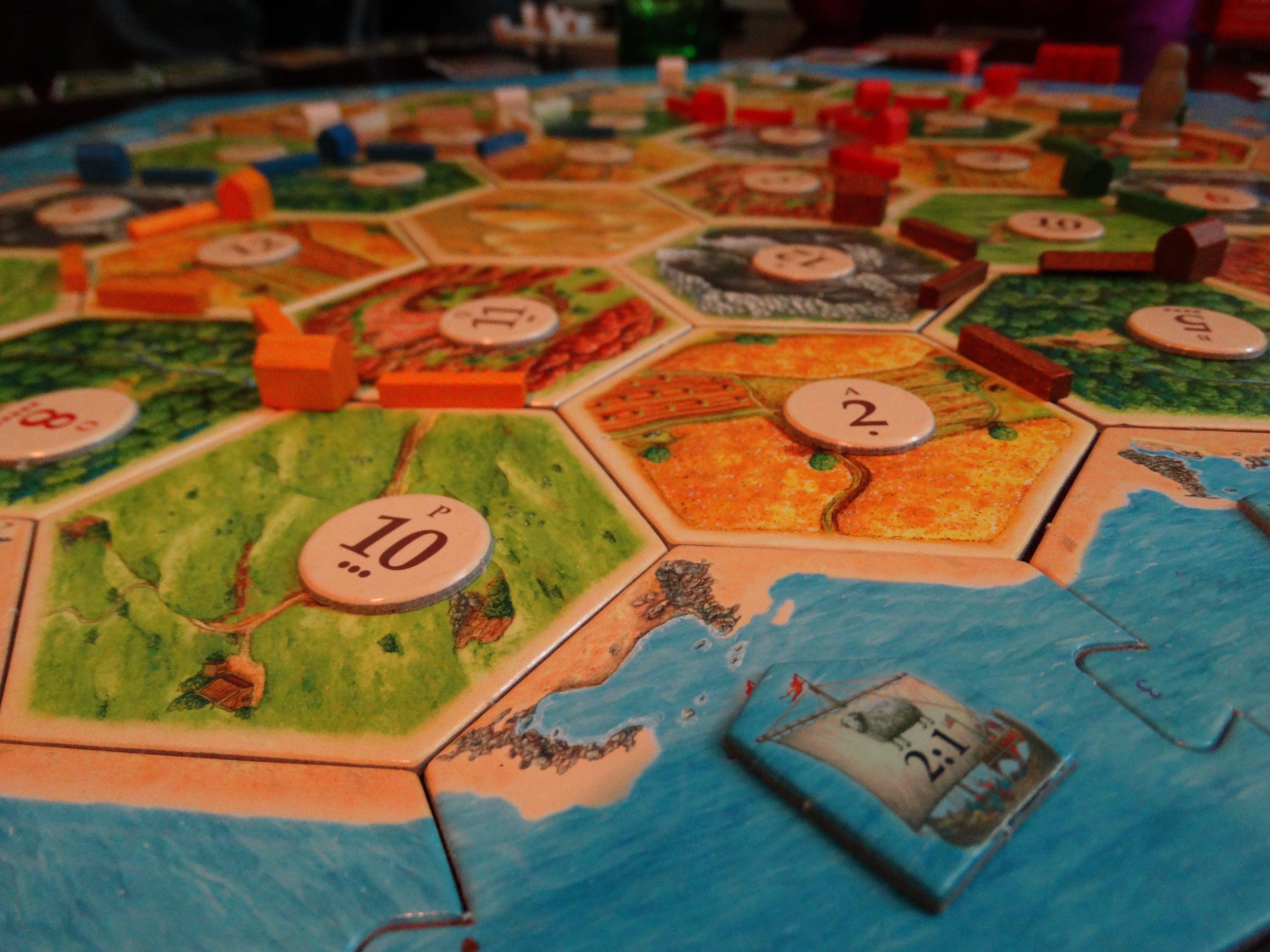 Wood for Sheep? Our New Years Eve Catan-athon Game Night! 8