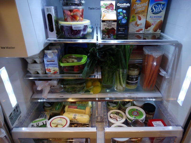The yummy foods I keep in my healthy fridge 4
