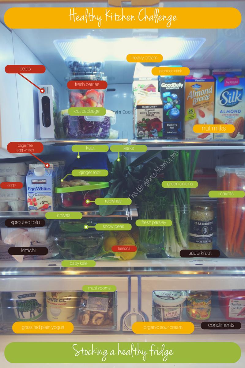 Healthy Kitchen Challenge, Stocking a Healthy Fridge