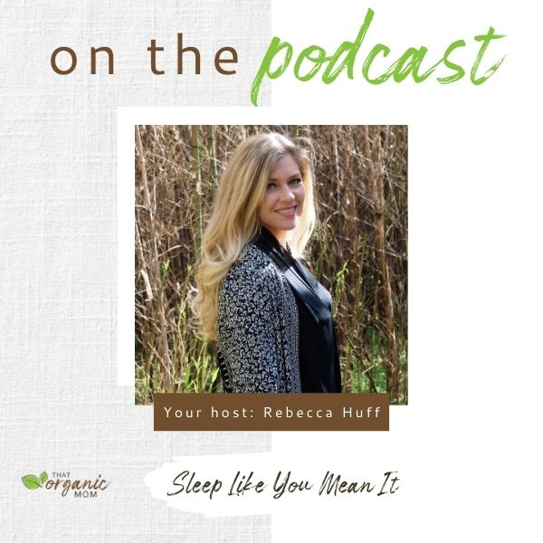 Sleep Like You Mean It - Episode 7 - A Healthy Bite Podcast