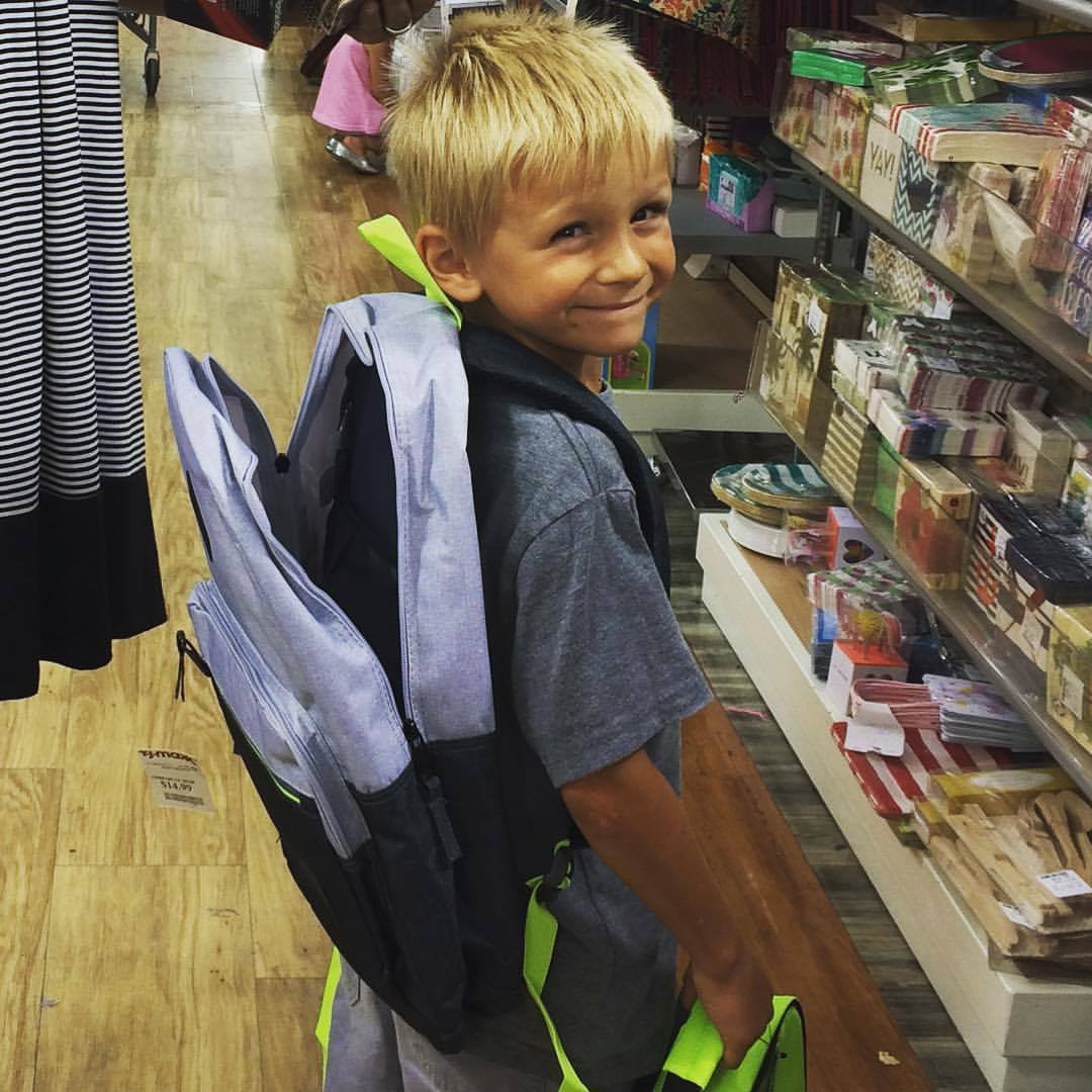 Back to school or First Day of School - here's the checklist you need!