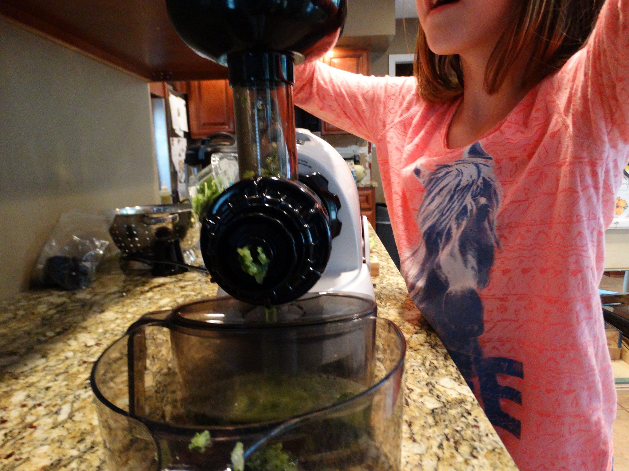 Matcha Kiwi Cucumber Spinach Juice 3