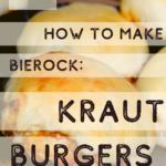 Mom's Kraut Burger Recipe - Comfort food from my childhood 4