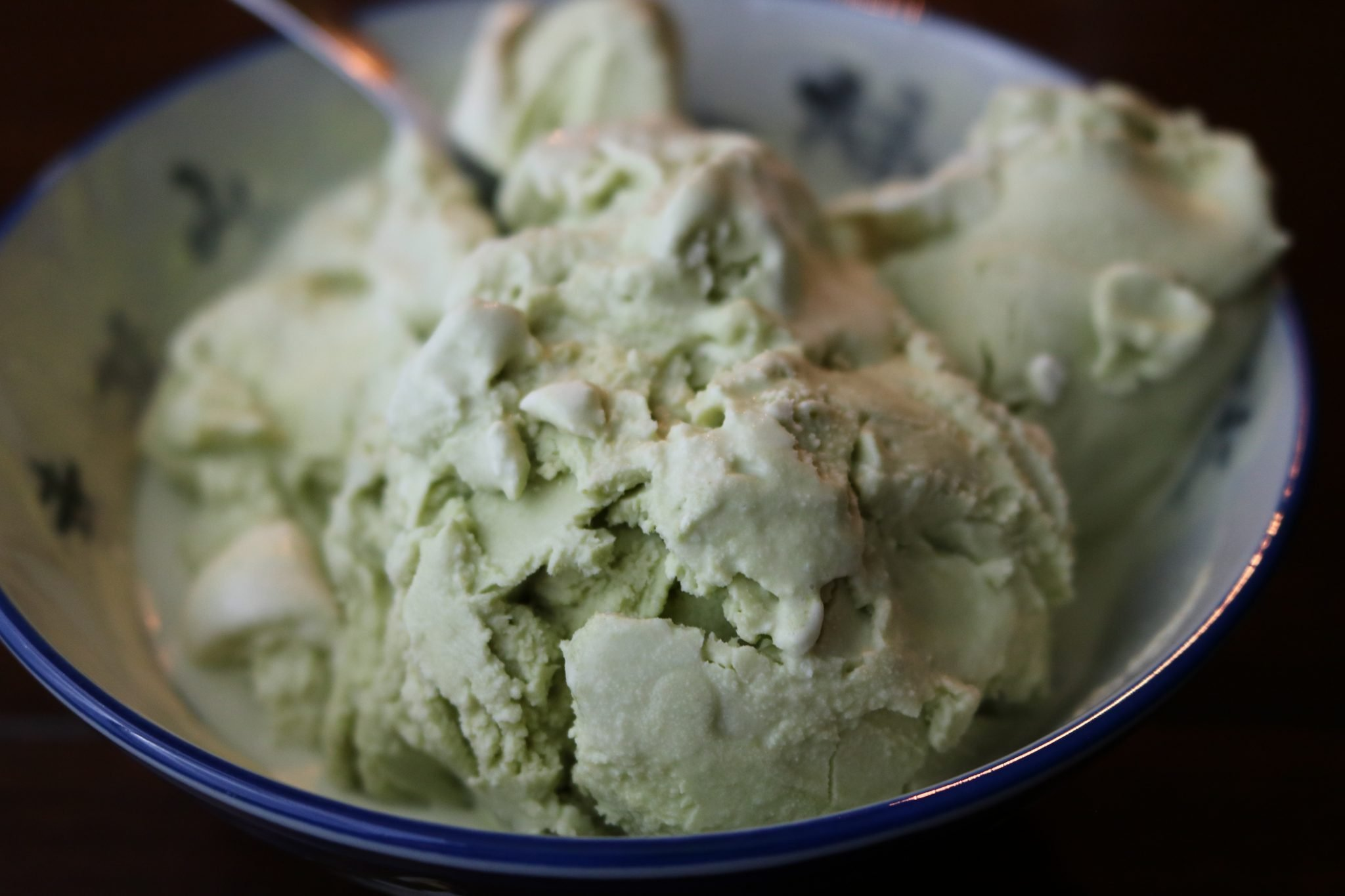 Matcha Ice Cream Recipe - refined sugar free. Plus a low carb option! 1