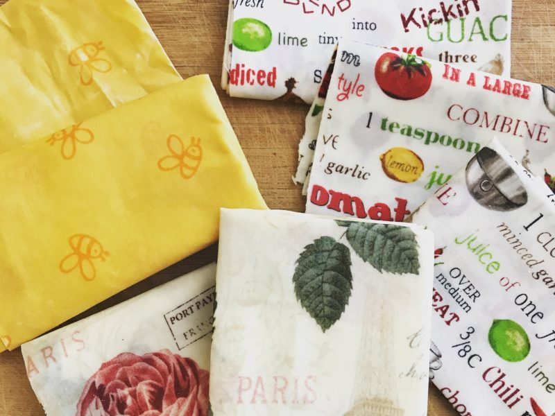 DIY Beeswax Wrap - Go Green Project to replace plastic wrap 2