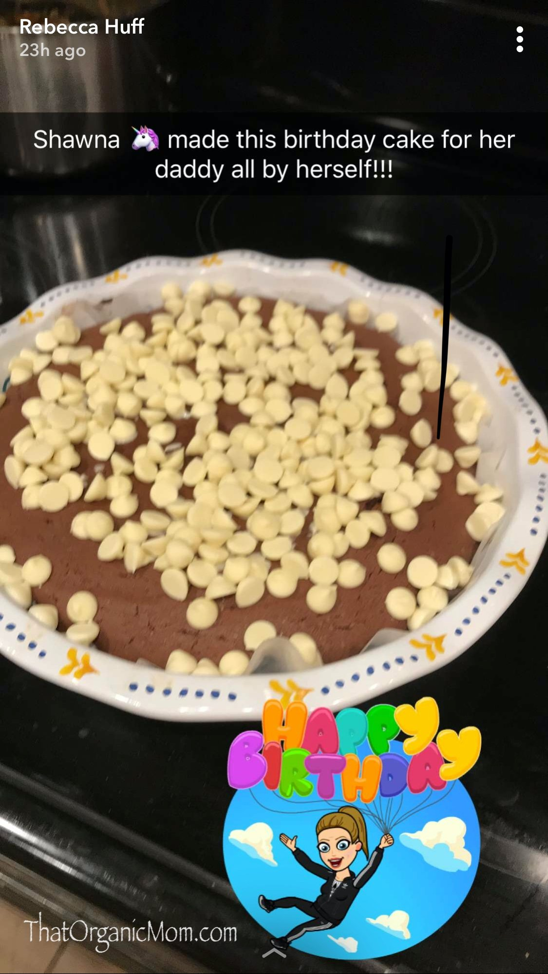 Rich and Easy Chocolate Cake - Kids in the Kitchen 5