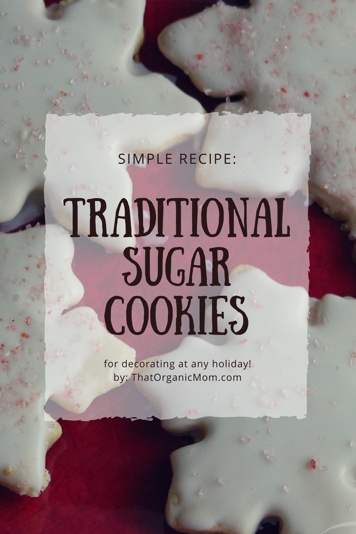 Traditional sugar cookies for decorating at any holiday 2