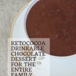 Ketococoa: A drinkable chocolate dessert for the whole family 7