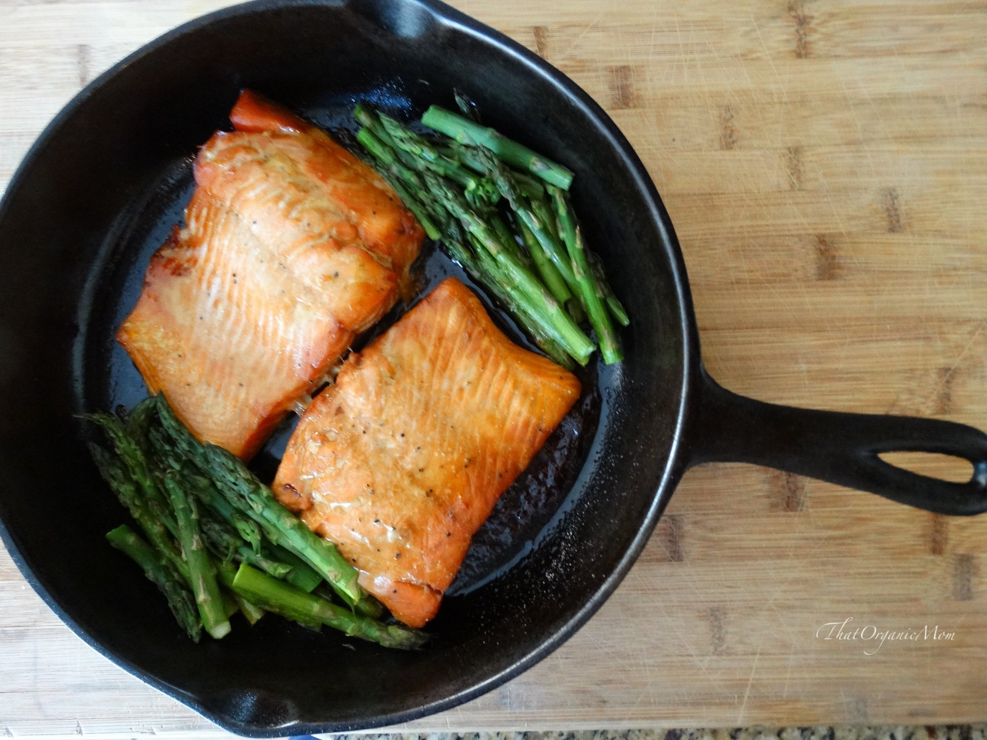 Maple Glazed Powerhouse Salmon Recipe 2