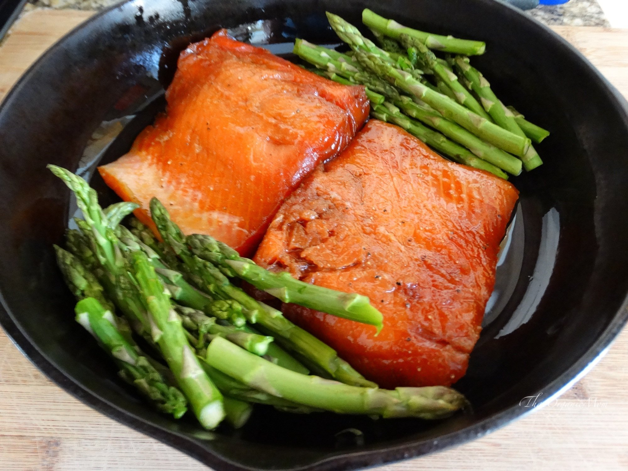 Maple Glazed Powerhouse Salmon Recipe 5