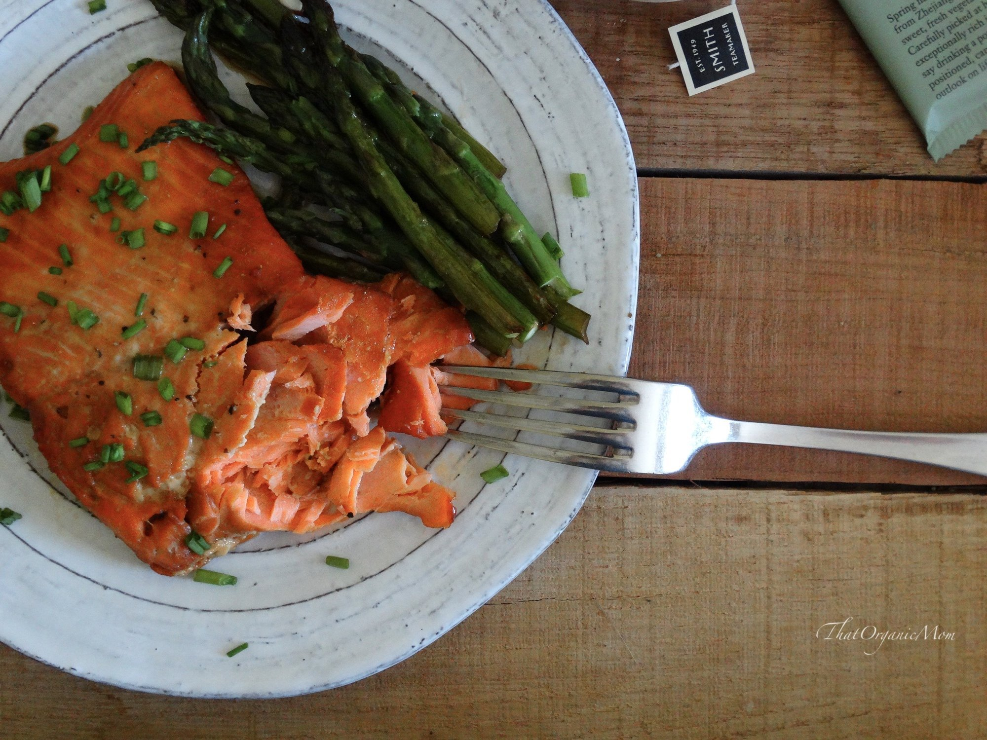 Maple Glazed Powerhouse Salmon Recipe