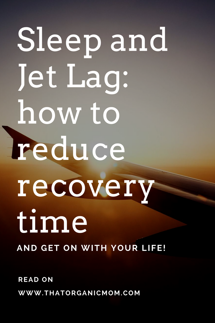 Sleep and jet lag - how to reduce recovery time 3