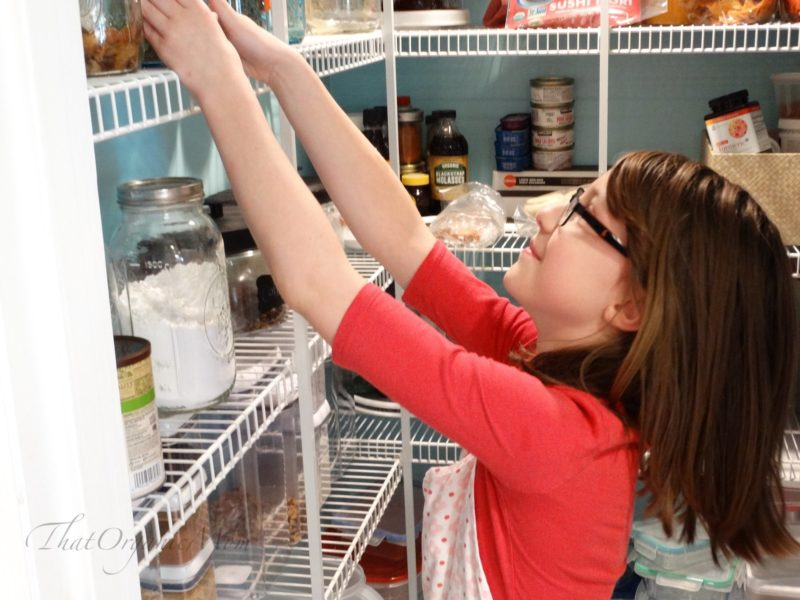 What can kids do to help in the kitchen from birth through the teen years 2