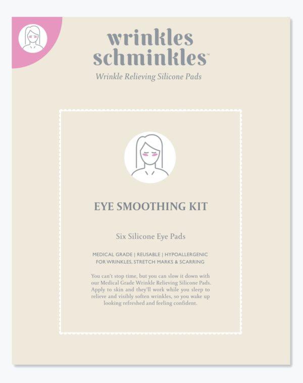 Eye Smoothing Kit - Six Silicone Eye Pads - Wrinkle Schminkle 8