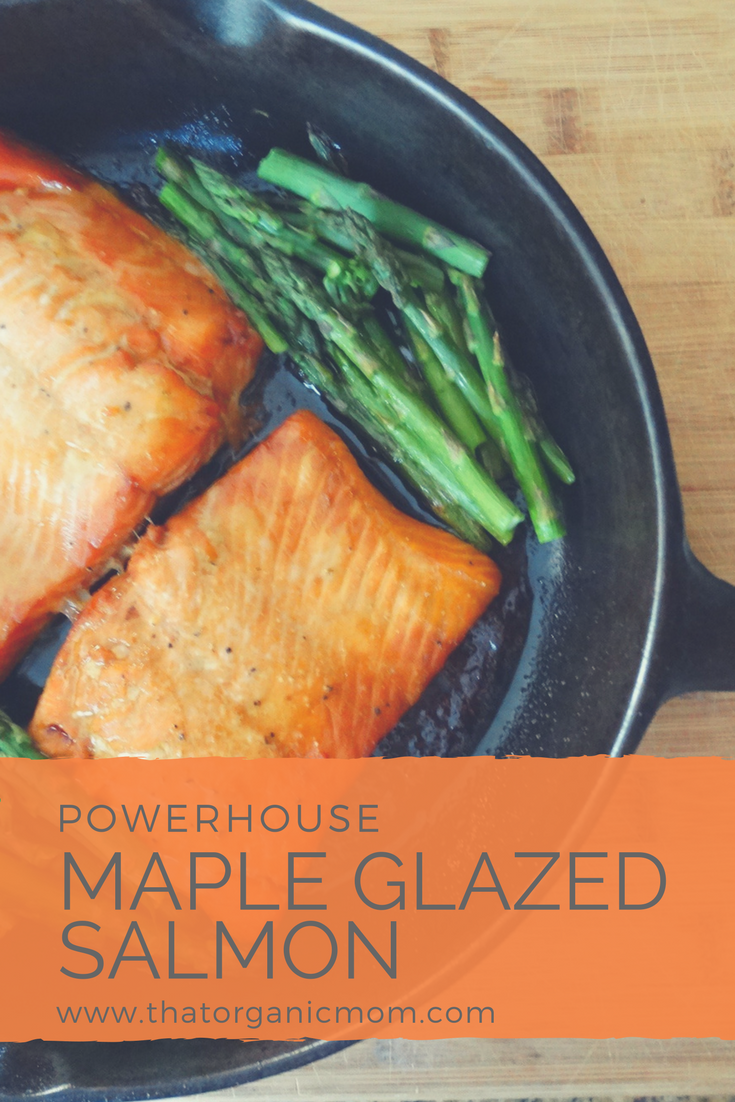 Maple Glazed Powerhouse Salmon Recipe 6