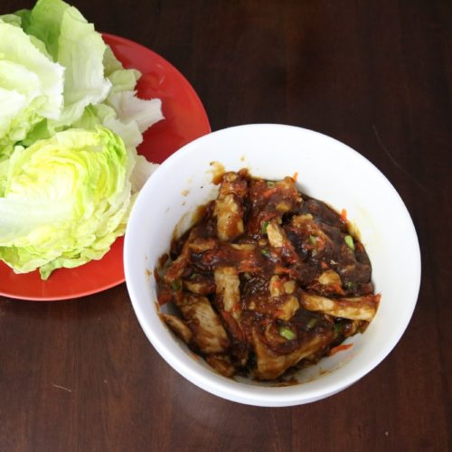 Korean Lettuce Wraps 2