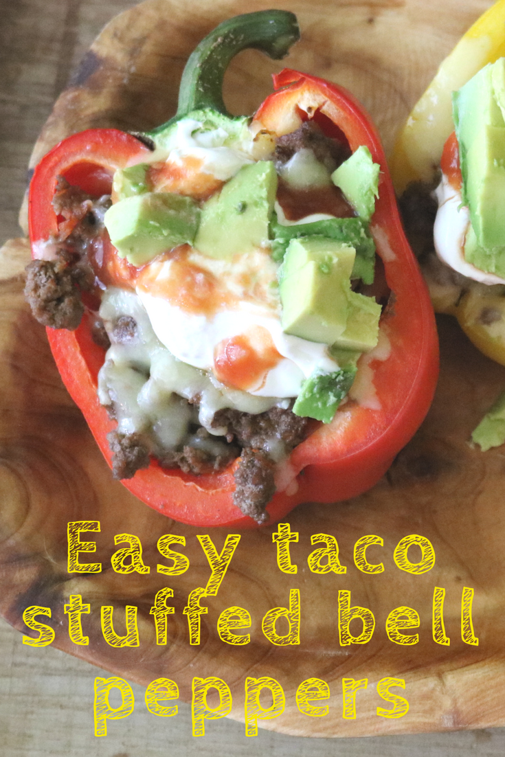 Easy Taco Stuffed Bell Peppers Recipe