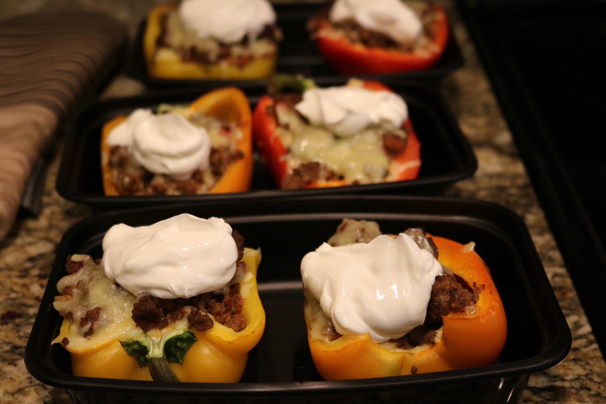 Easy Taco Stuffed Bell Peppers Recipe 4